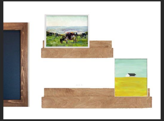 Rural Meadow wall art