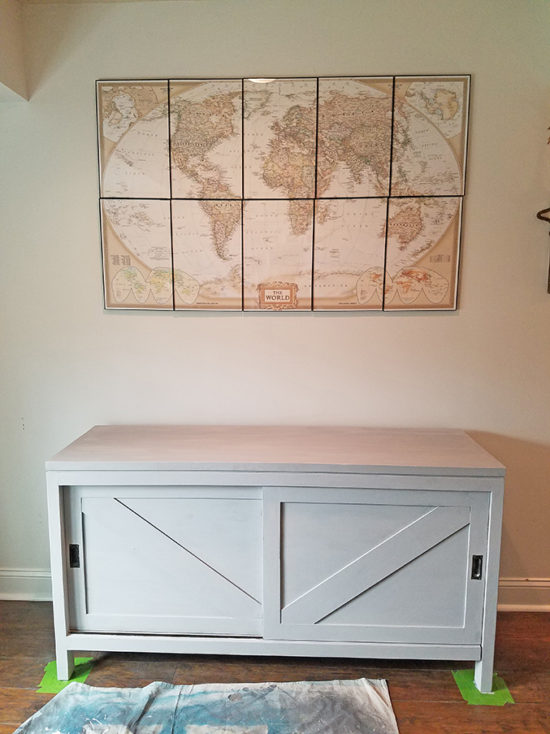 gray sideboard round 2