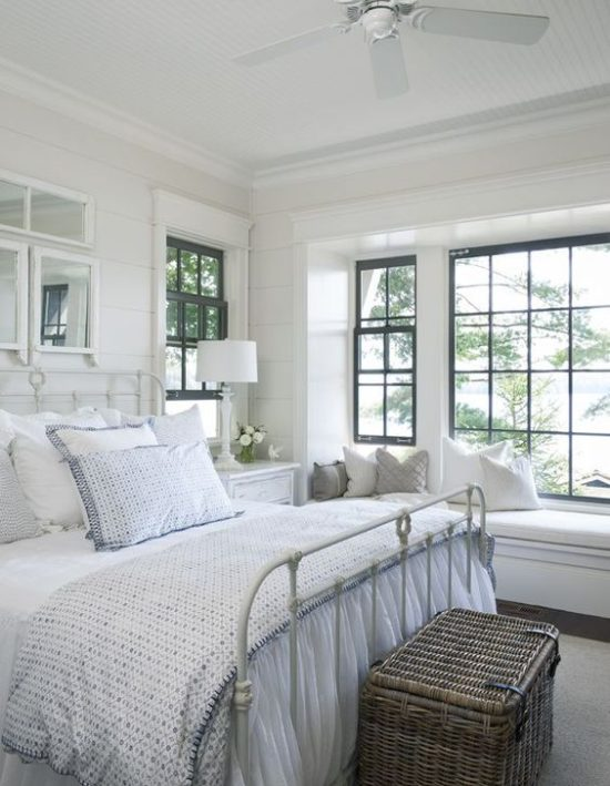 soft white neutral bedroom