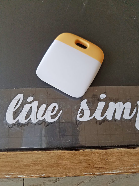 word transfers with a cricut machine