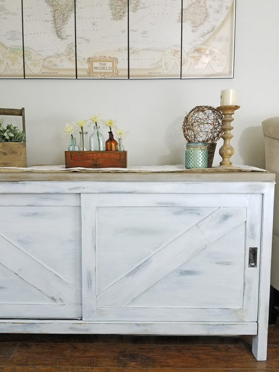 Antique Sideboard Farmhouse Makeover
