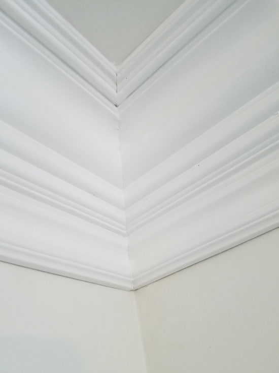 Crown Molding - How to Install Layered Crown Molding using baseboards