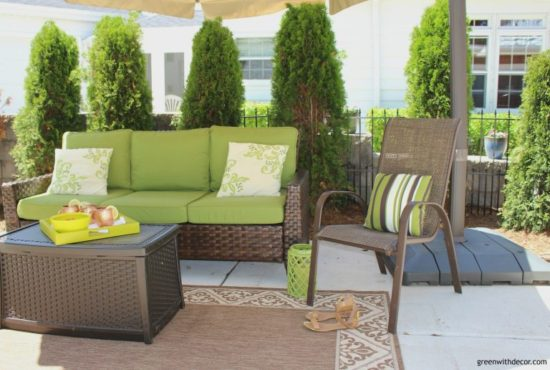 affordable outdoor throw pillows green with decor