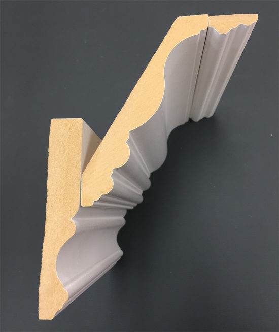How to install layered crown molding - from Metrie