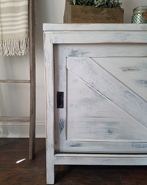 Vintage Sideboard Gets a Rustic Farmhouse Makeover
