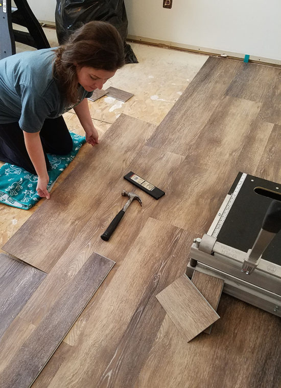 How To Install Lifeproof Vinyl Plank Flooring On Stairs