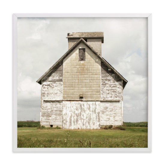 weathered barn print minted