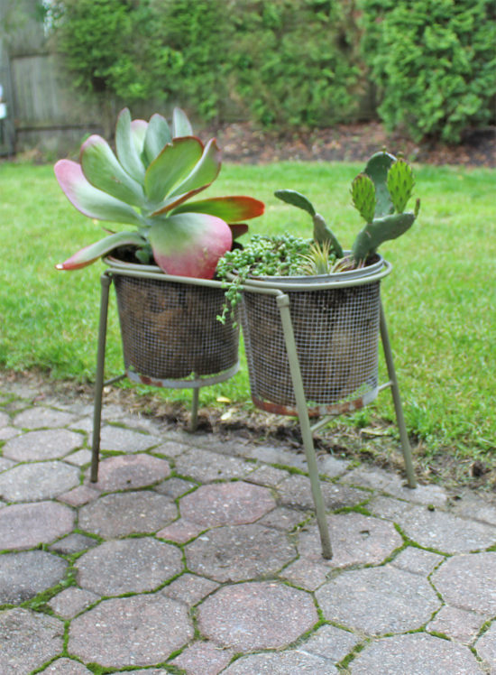 Creative planter idea - killie pot planter