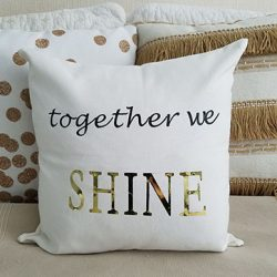 DIY Custom Pillow Cover