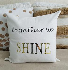 DIY Custom Pillow Cover