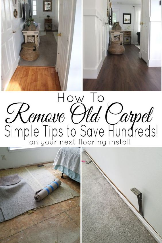 This easy to follow, step by step guide walks you through how to remove carpeting. A list of materials needed is included.