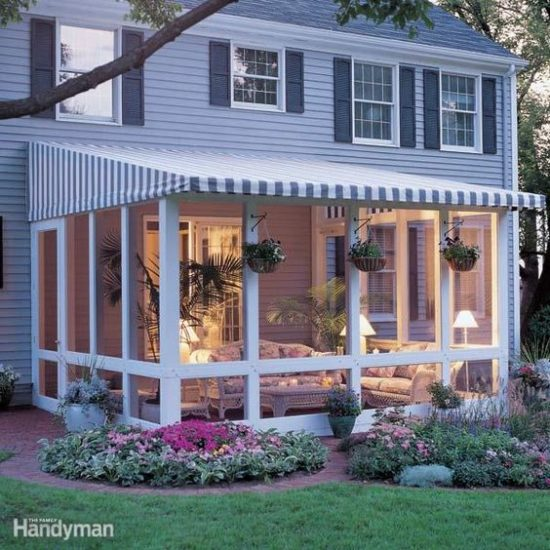screened in porch ideas outdoor living