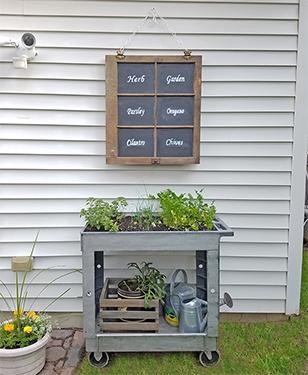 DIY Raised Herb Garden