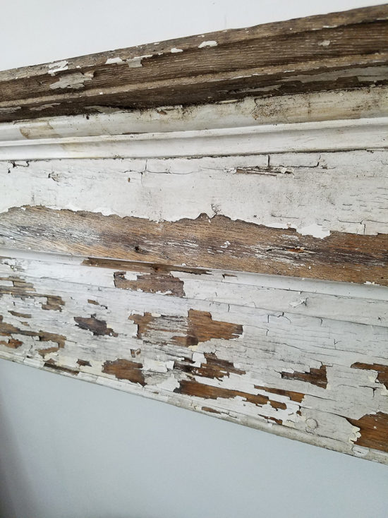 How to seal peeling paint for that fixer upper look