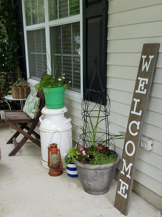 Summer Entry Porch, small front porch decorating ideas