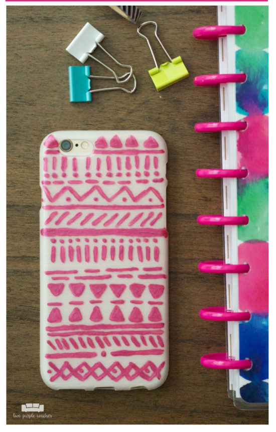 dollar store craft idea phone case