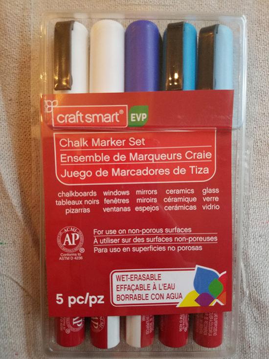 semi permanent chalkboard markers