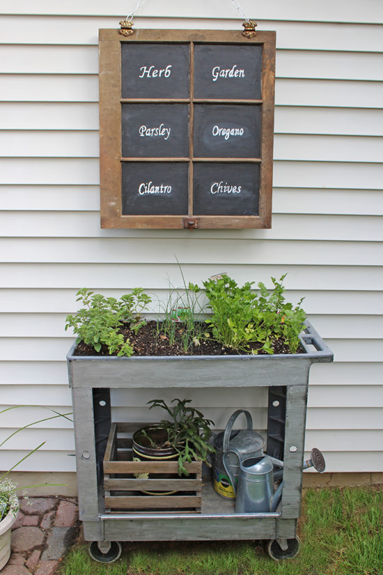 small space herb garden with window herb garden sign diy