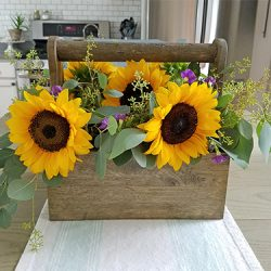 Rustic Sunflower Centerpiece