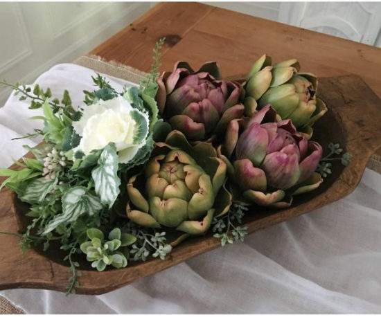 Dough Bowl Vintage Farmhouse Finds