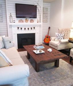 Living room home tours