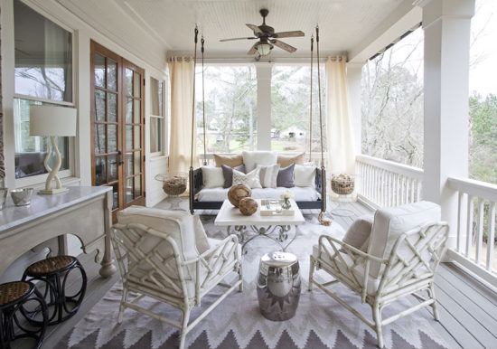 Lindsey Hene Interiors Porch Swing