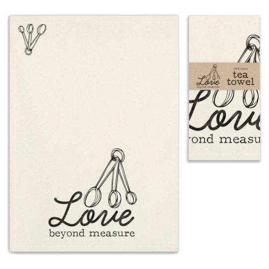 Love Beyond Measure Vintage Tea Towels
