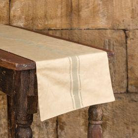 linen grain sack table runner