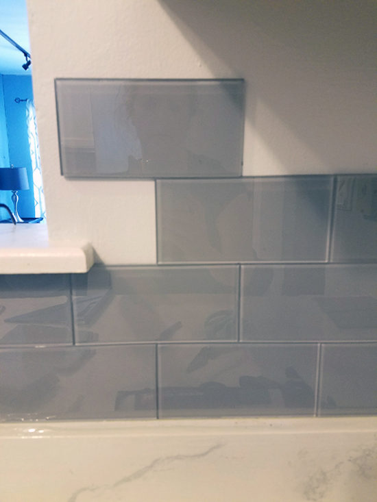 backsplash - installing a backsplash glass subway tiles