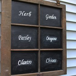 perfect chalkboard lettering, transfer method FI