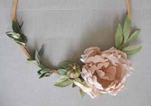 Make and take workshop fall wreath