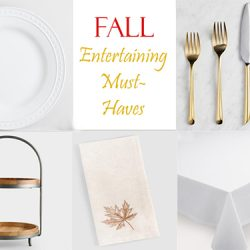 fall entertaining must haves FI