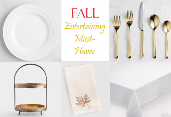 fall entertaining must haves, tablescape ideas, entertain