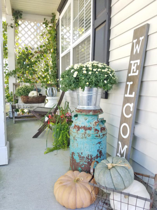 Fall Porch Decor, front porch decorating ideas, front porch ideas for fall, fall front porch