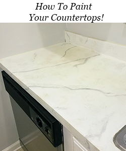 How to paint your countertops