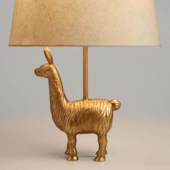 Llama lamp treasure hunt