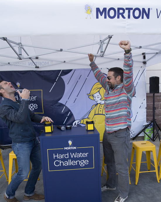 Morton Salt, the Cousins, hard water challenge