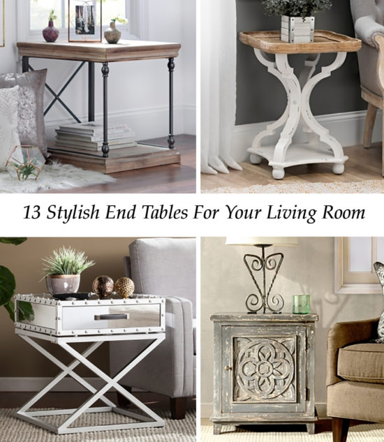 Stylish End Tables For Every Design Style - Beautiful Picks!