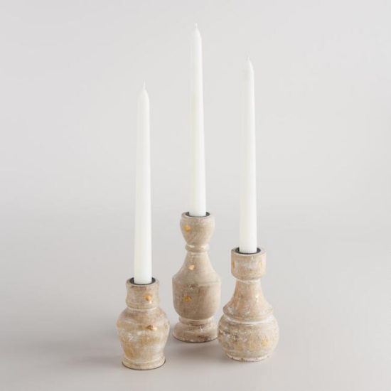 bottle candle taper holders
