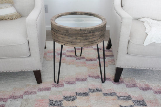 diy small end table upcycle