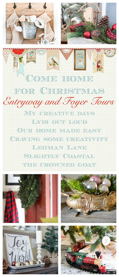 Christmas entryways and foyers