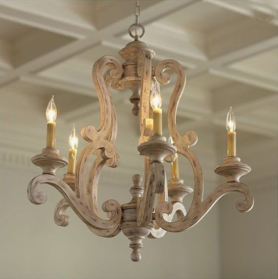 gorgeous chandelier lighting for 8' ceilings