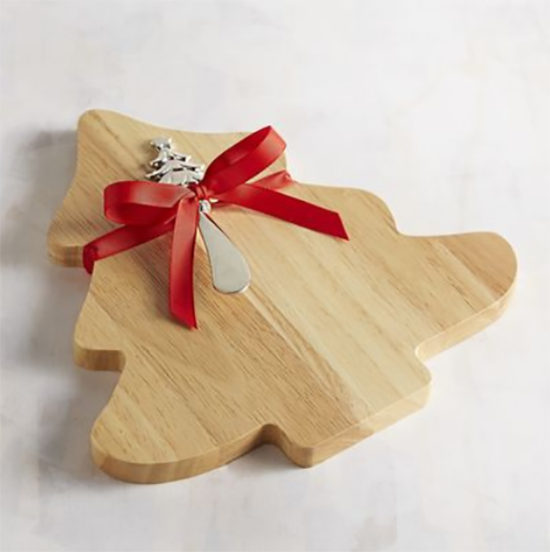 Christmas Tree chesse board with spreader