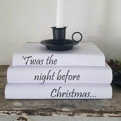 DIY Christmas Book Covers FI