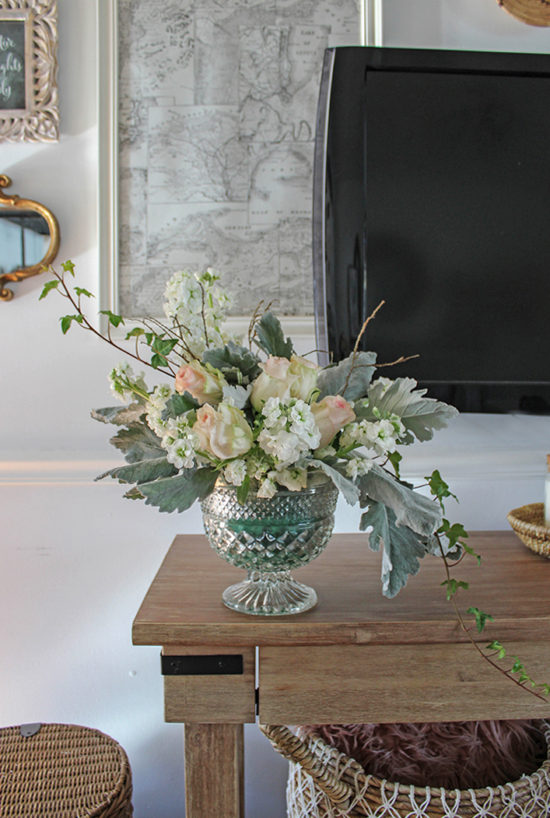 pedestal flower arrangements you can do yourself