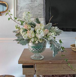 Pedestal flower arrangement FI