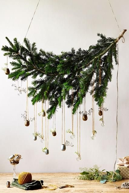 branch with ornaments