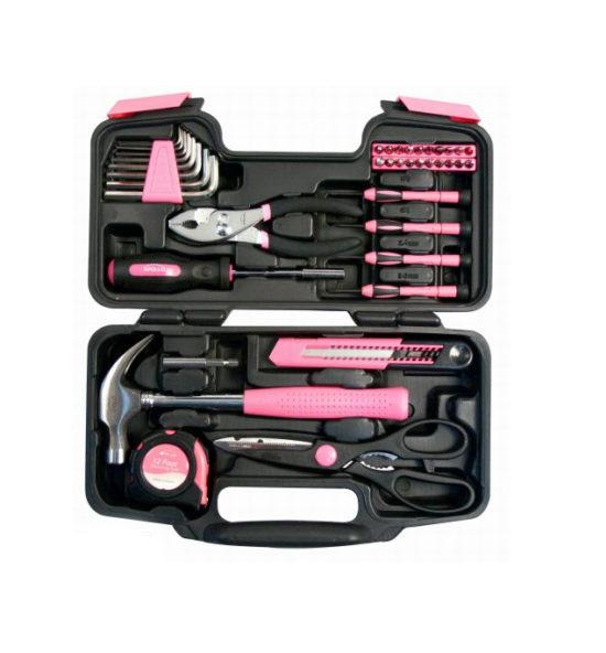 pink tool kit