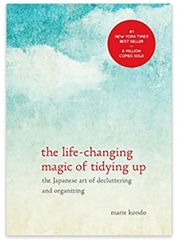 gift ideas - the life changing magic of tidying up book