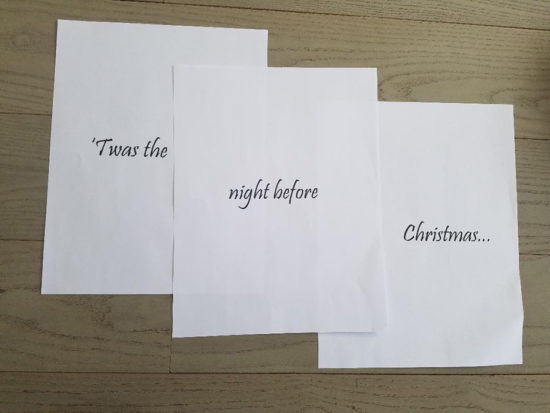 Christmas Book Cover Printables - Christmas DIY decorating ideas